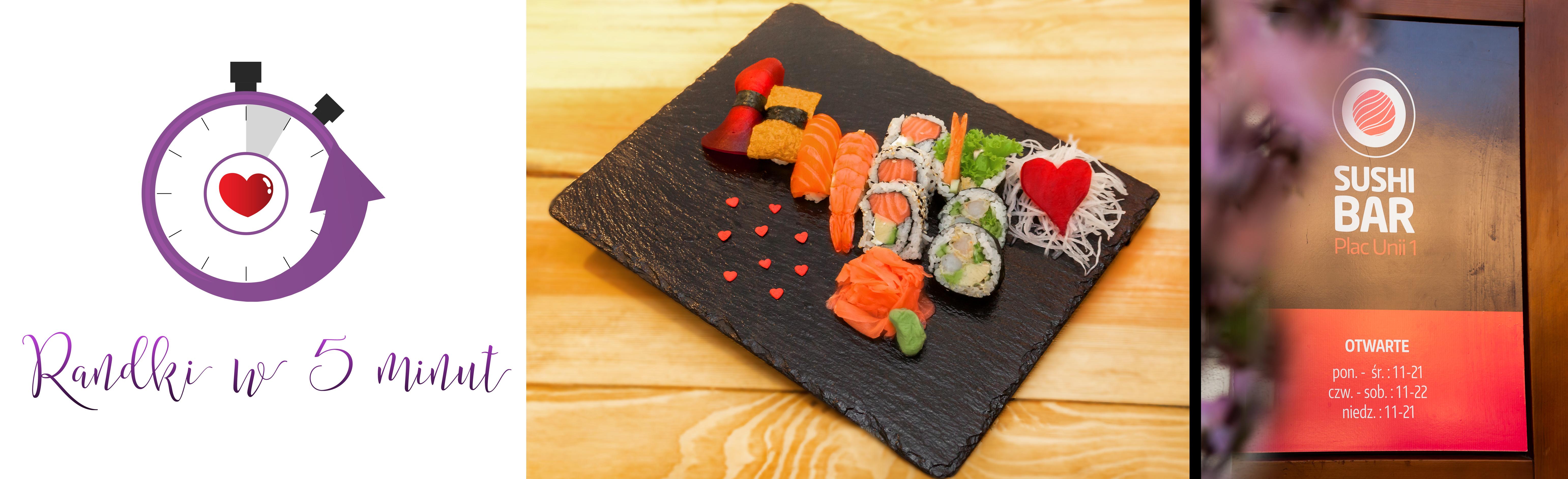 Randka z kolacją sushi w Plac Unii 28.04 w Warszawie