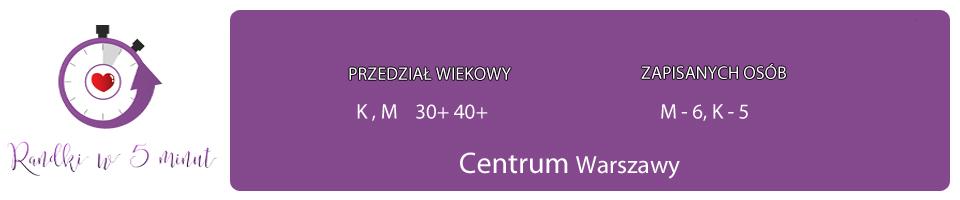 centrum warszawy M+K 30-40+